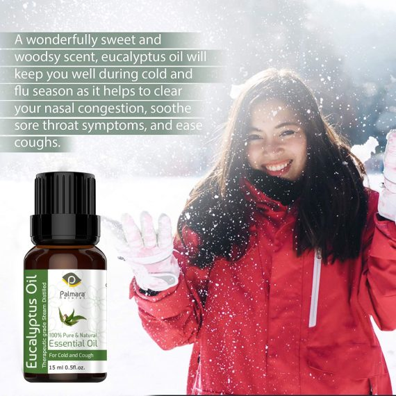 Nilgiri Eucalyptus Oil for Cold and Cough