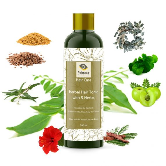 Herbal Hair Tonic with 9 Herbs