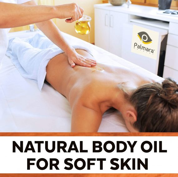 Body Massage Skin Care Almond Oil