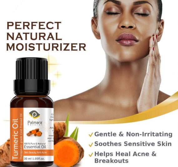 Skin Care anti acne turmeric oil