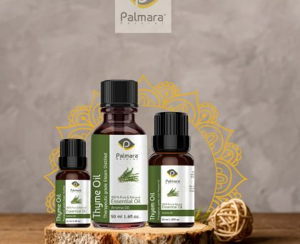 Thyme Oil Perfect for Aromatherapy, Relaxation, Skin Therapy.